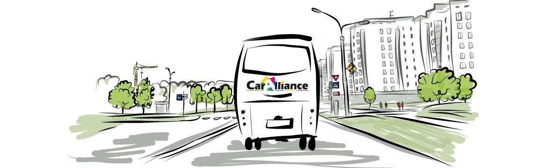 Lignes régulières Caralliance